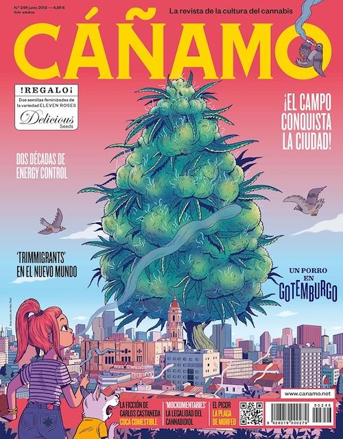 Último número de la revista Cáñamo