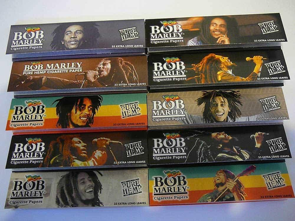 Bob Marley Pure Hemp Rolling Papers