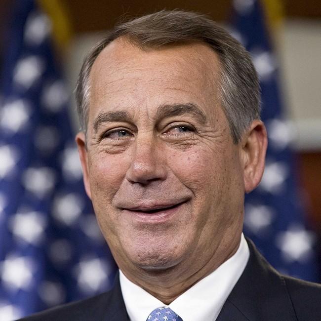 """John Boehner: EE.UU. Este pasa el corte por lo malo y no por lo bueno. Este político dijo en 2011 que nunca legalizaría el cannabis y ahora es miembro de una empresa que lo produce. """"Donde dije digo, digo Diego""""."""