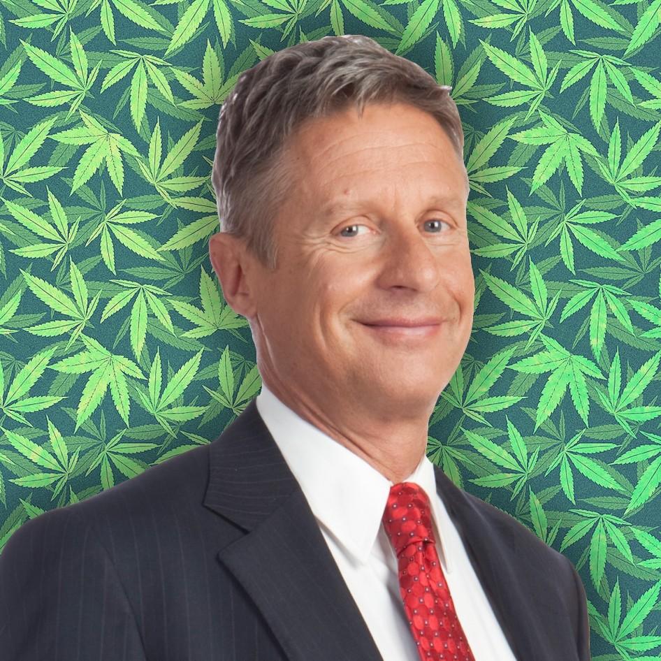 Gary Johnson: EE.UU. Durante su carrera política nunca negó que consumió marihuana pese a que afirmó que dejaría de fumar si ganaba las elecciones a presidente.