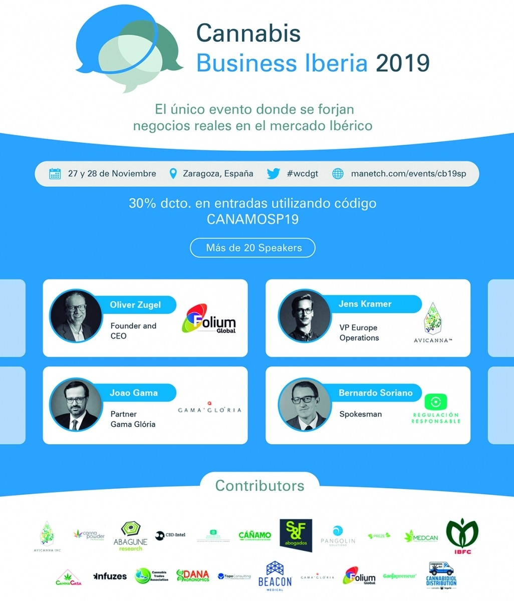 Se celebra el Cannabis Business Iberia 2019