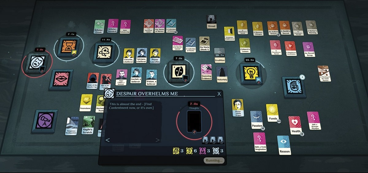 'Cultist Simulator' (Weather Factory, 2018)