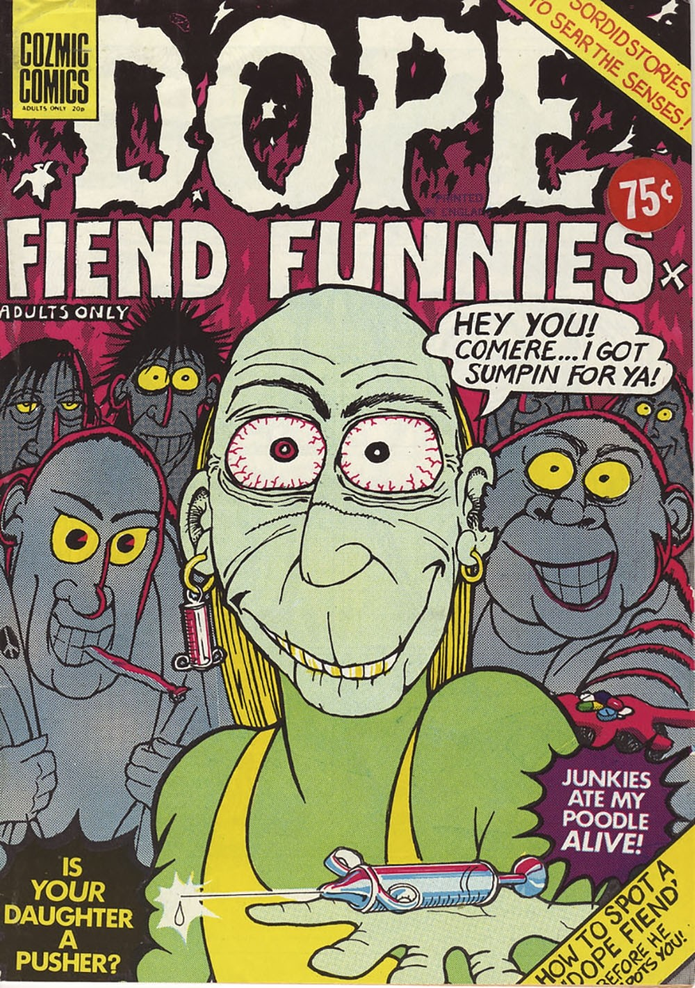 Comic Dope Fiend Funnies