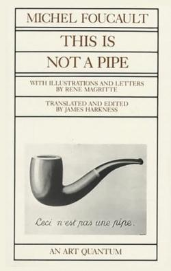 Portada de This is not a pipe de Muchel Foucault