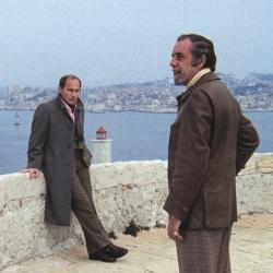 "Marcel Bozzuffi y Fernando Rey en un fotograma de ""The French Connection"" (William Friedkin, 1971)"