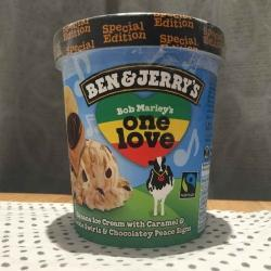 Ben & jerry One Love