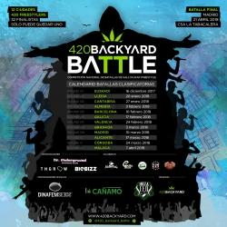Calendario 420 Backyard Battle