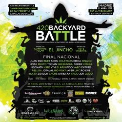 Cartel 420Backyard Battle Final