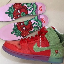 "Filtradas las zapatillas Nike ""Strawberry Cough"" para celebrar el 4/20"